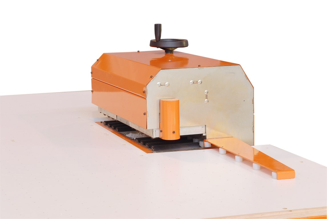 Prensa mini truseal con mesa aplicadora y cargador basculante para DVH